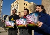 Roda de premsa de la CUP de suport a la lluita contra la MAT